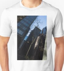 A Study in Contrasts - Downtown Toronto Miniature Park - Right T-Shirt