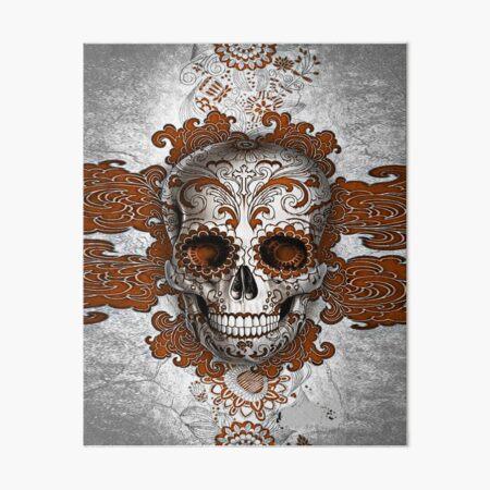 kulture skull head best selling Art Board Print