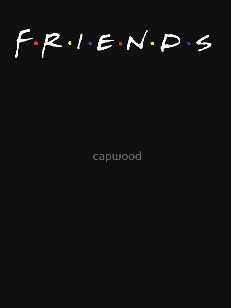 TShirtGifter presents: friends | Unisex T-Shirt