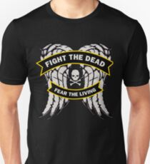 Fight the Dead Fear the Living Slim Fit T-Shirt