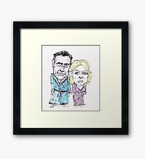 Mitt and Anne Romney- after the election Framed Print