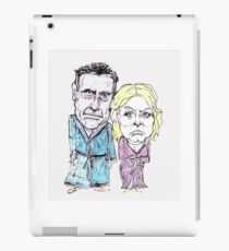 Mitt and Anne Romney- after the election iPad Case/Skin