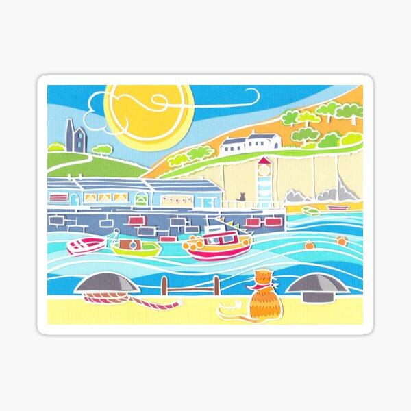 The Harbour Cat Sticker