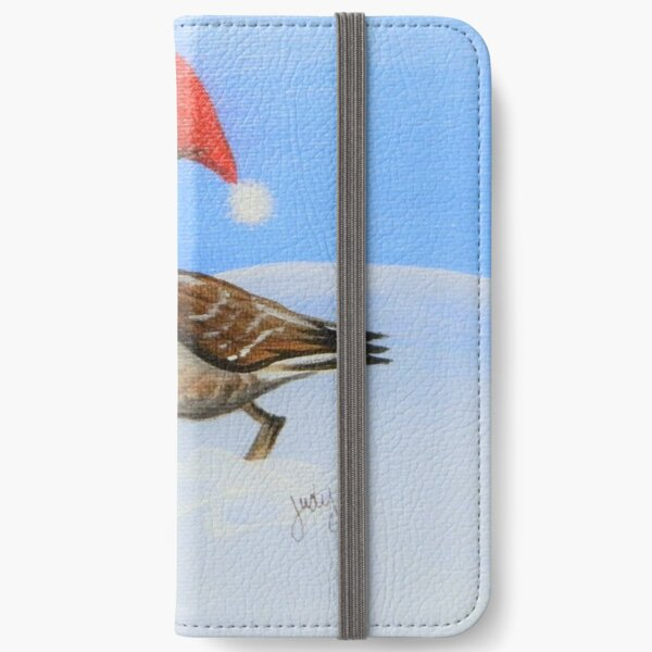 Christmas Goose iPhone Wallet
