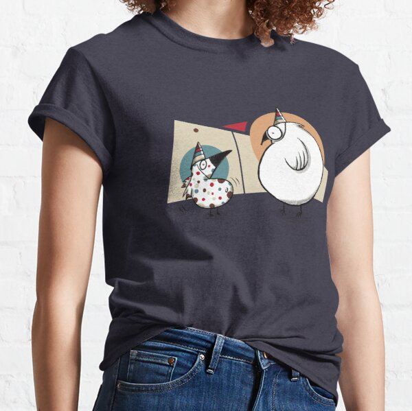 Weird Party Birds Classic T-Shirt