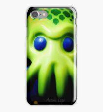 Lego Alien Trooper minifigure  iPhone Case/Skin
