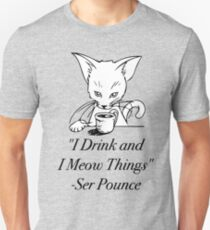 Ser Pounce - Game of Thrones Unisex T-Shirt
