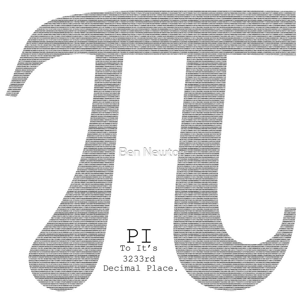 pi by Ben Newton