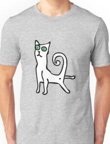 Stretching cat Unisex T-Shirt