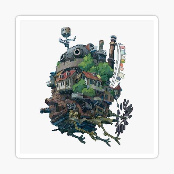 Howls Moving Castle. Sticker