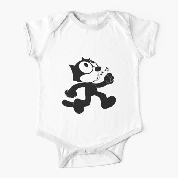 Felix the cat Short Sleeve Baby One-Piece