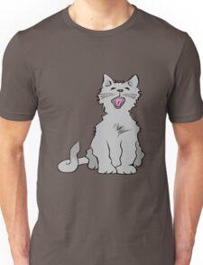 Kitten yawning Unisex T-Shirt