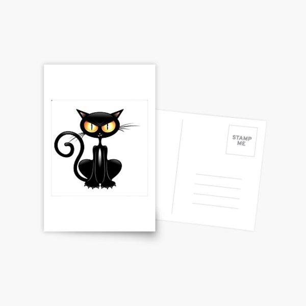 Schwarze Blase Katze Logo | Etsy