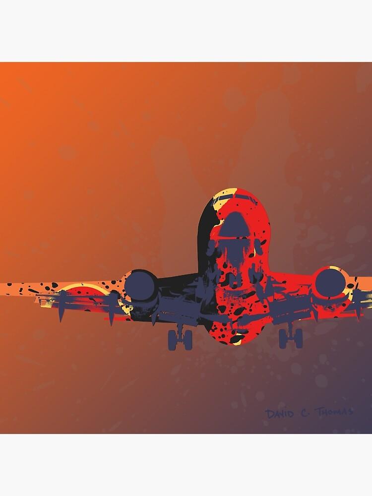The Landing Plane 2012 by randomarthouse