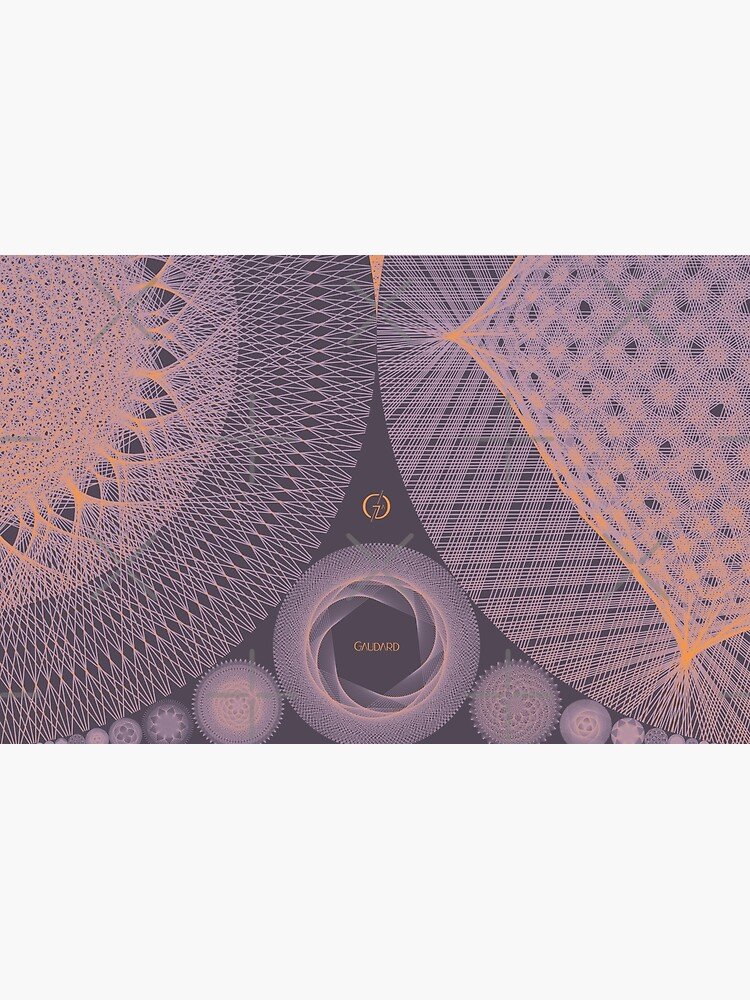 Contemporary Mandalas Track   Slow Down   Sunset by AtelierGaudard