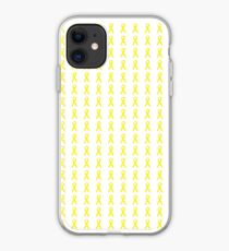 Yellow Ribbons iPhone Case