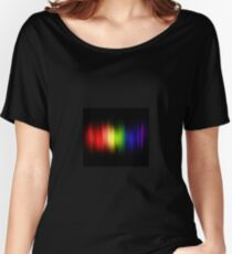 Feel The Colors Of The Rainbow Women's Relaxed Fit T-Shirt