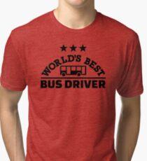 World's best bus driver Tri-blend T-Shirt