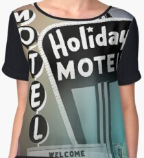 Vegas Motel Women's Chiffon Top