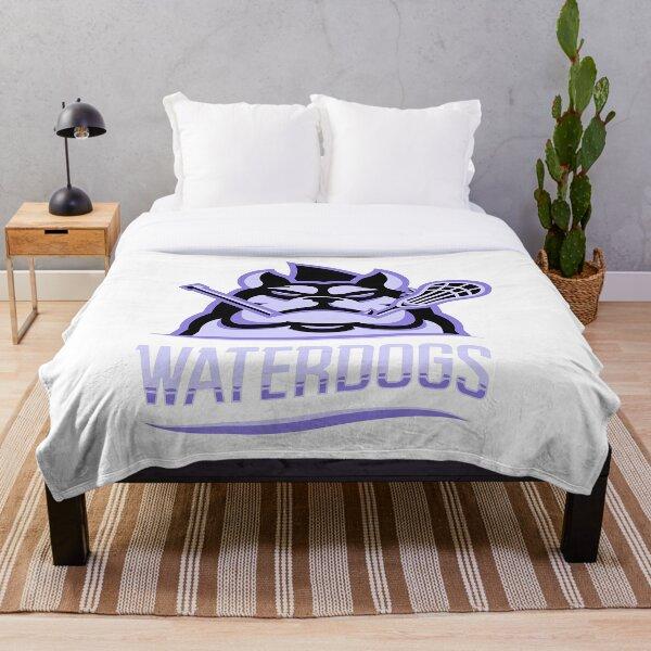 Waterdogs Lacrosse Club Throw Blanket