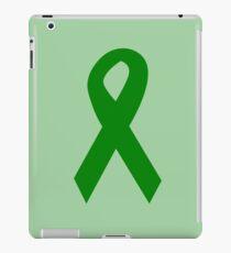 Green Ribbon iPad Case/Skin