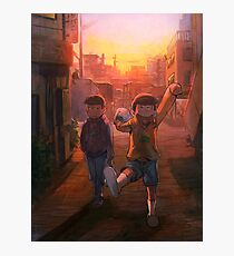 Going Home - Osomatsukun Photographic Print