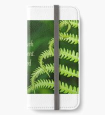 By His Fringe ~ Matthew 14:36 iPhone Wallet/Case/Skin