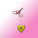 A Golden Heart Locket by Chere Lei