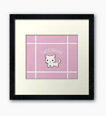 Cutie Kitty Framed Print