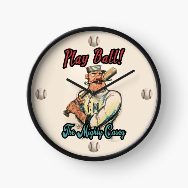 Play Ball! The Might Casey Clock