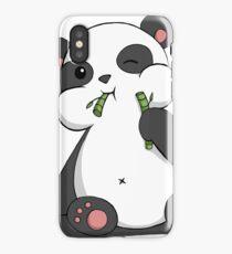 Lovely panda iPhone Case