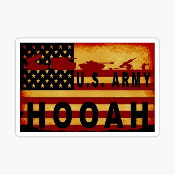 HOOAH - 023 Sticker