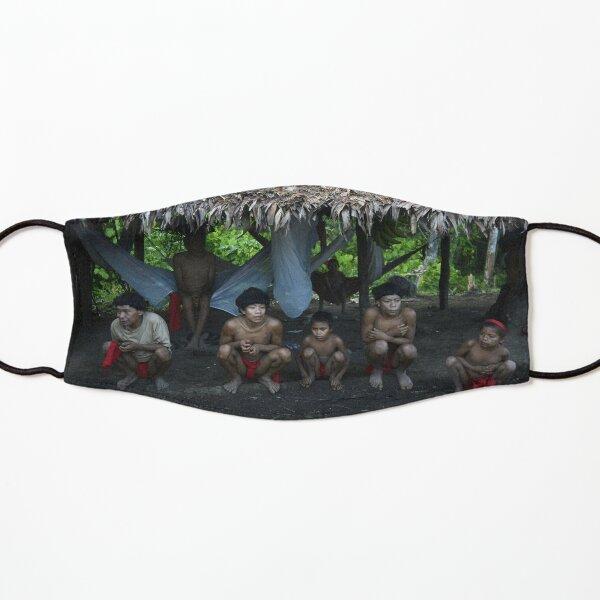 Yanomami indigenous boys Kids Mask