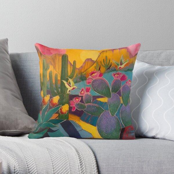 Abundance of Spring Throw Pillow