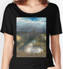 autumn pond Women's Relaxed Fit T-Shirt