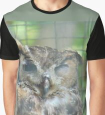 Winking Owl Graphic T-Shirt