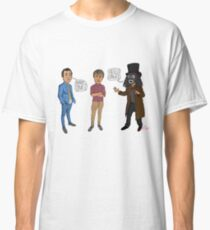 Only Fools & Horses / League of Gentlemen Mashup! Rodney, Trigger & Papa Lazarou Classic T-Shirt