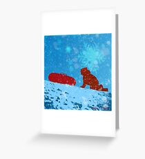 The Tube 2013 Greeting Card