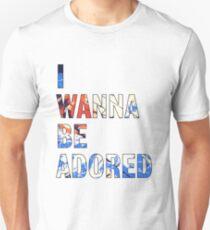 I Wanna Be Adored -The Stone Roses Unisex T-Shirt