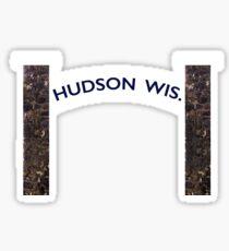 Hudson, WI  Sticker
