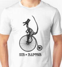Sir Raptor Unicycle  T-Shirt