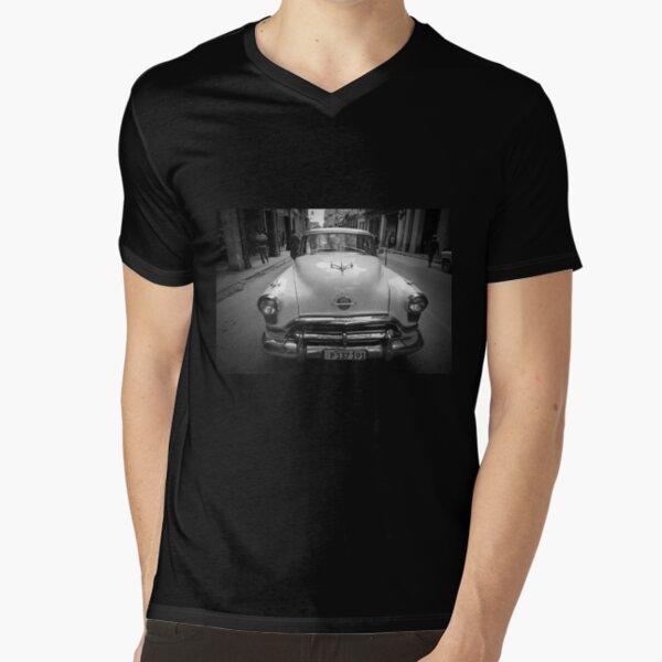 Chevrolet blanc vintage à manches longues T-Shirt Rétro Chevy Voiture Racing Snap Muscle