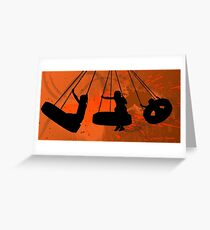 The Tire Swing 2011 Greeting Card