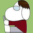 Katsuragi Keima as Snoopy by Explicit Designs