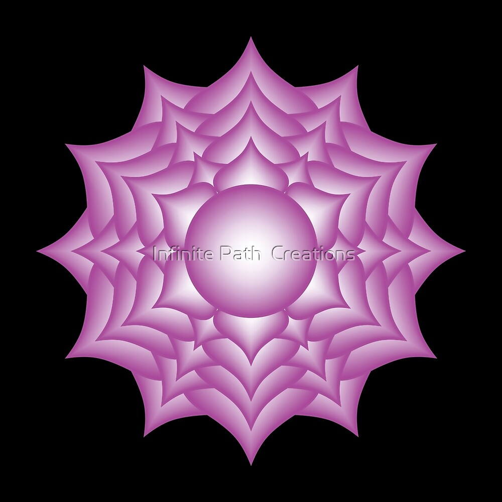 Sahasrara Chakra - 2008  by Shining Light Creations