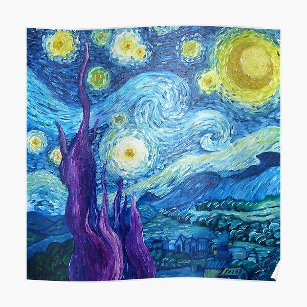 La nuit étoilée Poster