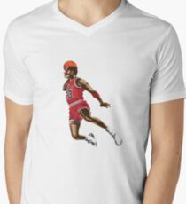 Michael Jordan Men's V-Neck T-Shirt