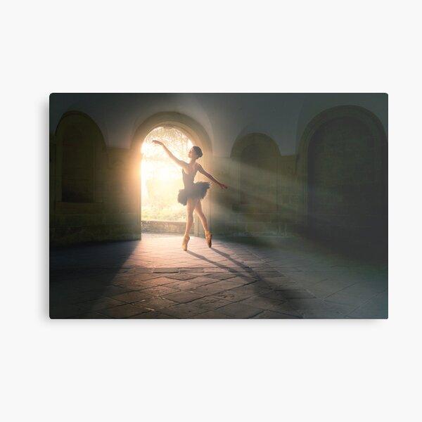 Magical light dance Metal Print