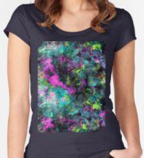 Colour Splash Women's Fitted Scoop T-Shirt