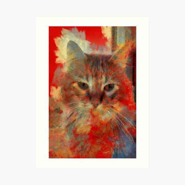 cat Impression artistique